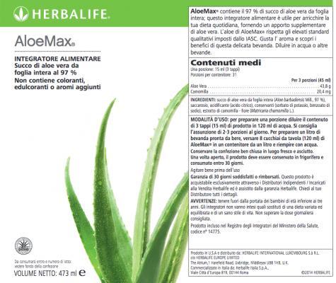 Herbal Aloe Max Herbalife
