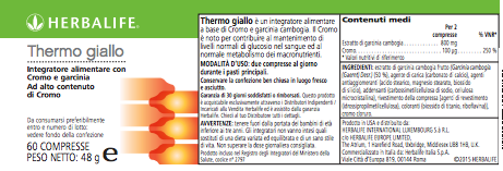 Thermo Giallo Herbalife
